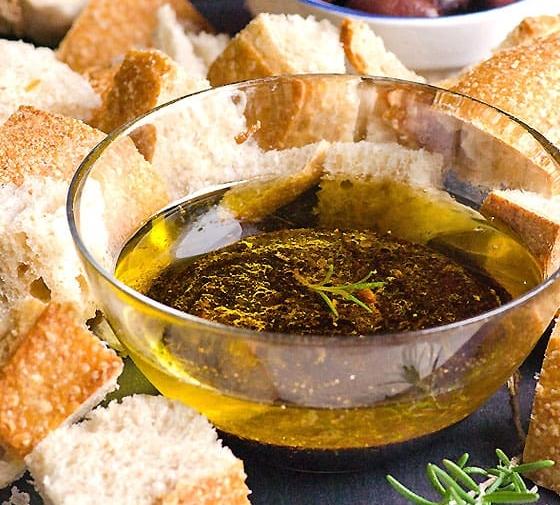 Garlic Olive Oil Dip