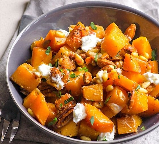 Honey Garlic Butternut Squash