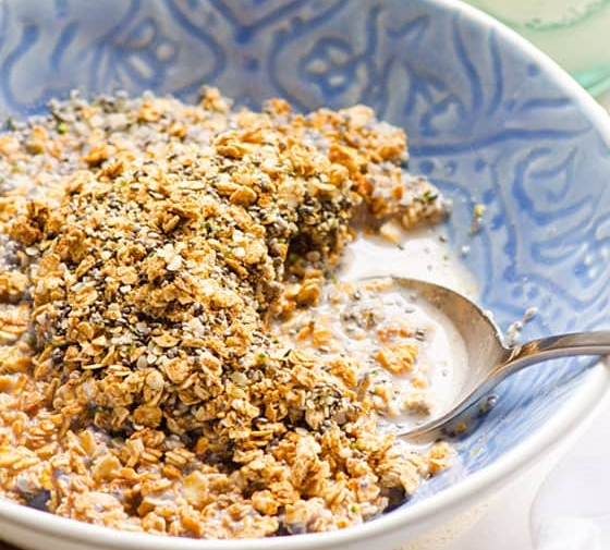 Healthy Homemade Cereal