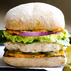 Ground Chicken Burger Recipe