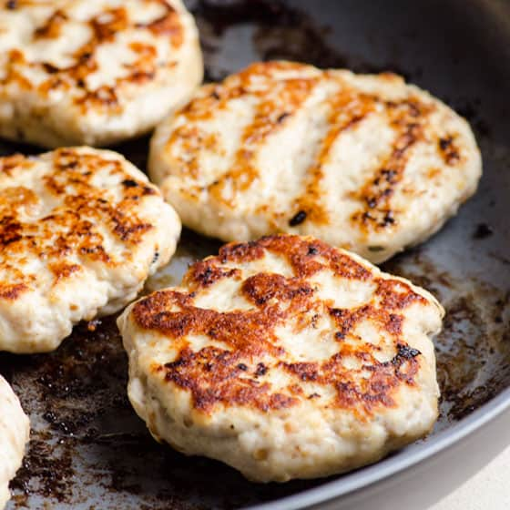 Ground Chicken Burgers or Patties - iFOODreal
