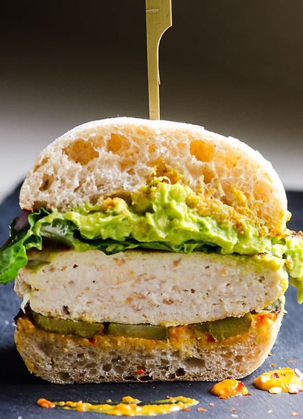 Chicken Burger Recipe - iFOODreal