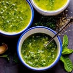 Chimichurri Sauce Recipe 3 Ways: Mint, Arugula and Parsley