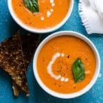 creamy vegan sun dried tomato soup recipe