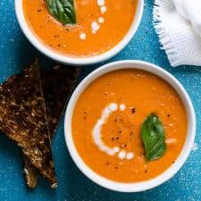 creamy vegan sun dried tomato soup recipe