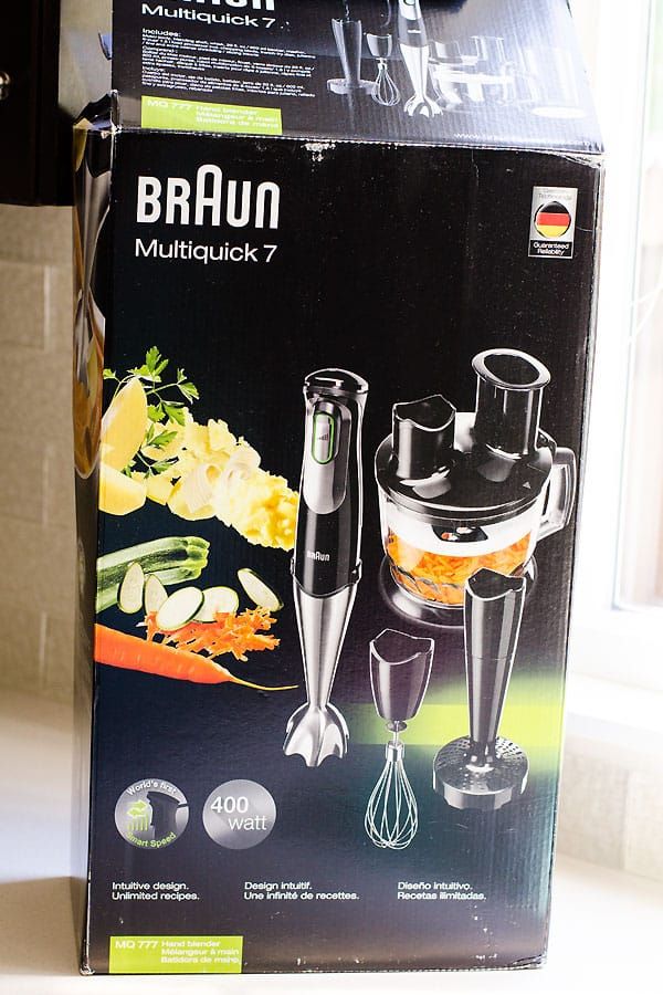 braun multiquick 7 immersion blender