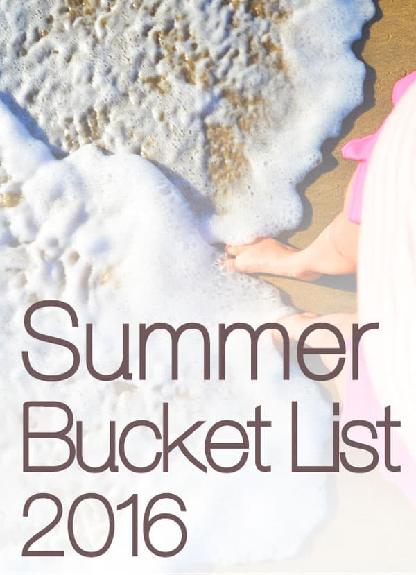 Summer Bucket List 2016 | ifoodreal.com