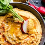 Chipotle Sweet Potato Hummus