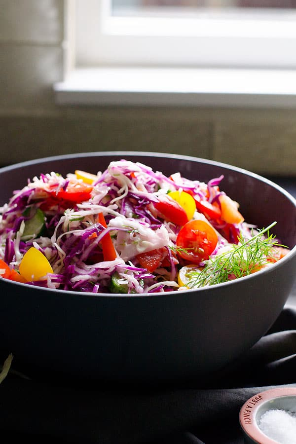 Dill Coleslaw Recipe