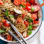 chicken whole wheat spaghetti recipe