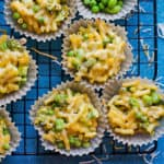 Veggie Mac and Cheese Muffins Recipe