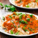 Healthy Crockpot Butter Chicken