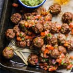 Mexican Turkey Meatballs