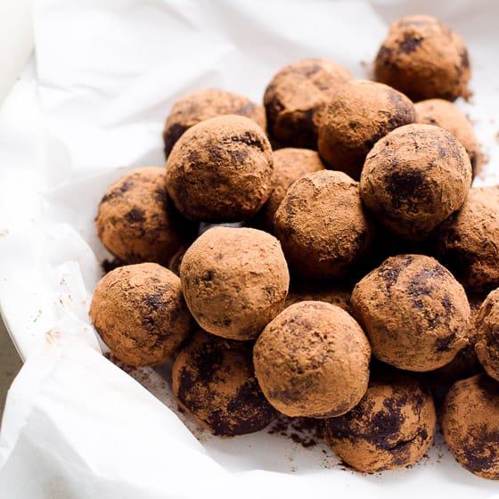 Healthy Rum Balls