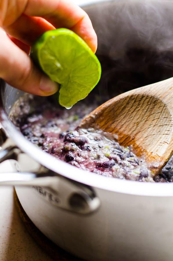 Black Bean Nachos - iFOODreal - Healthy Family Recipes
