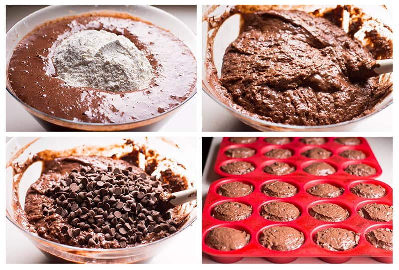 how to make healthy chocolate muffins recipe
