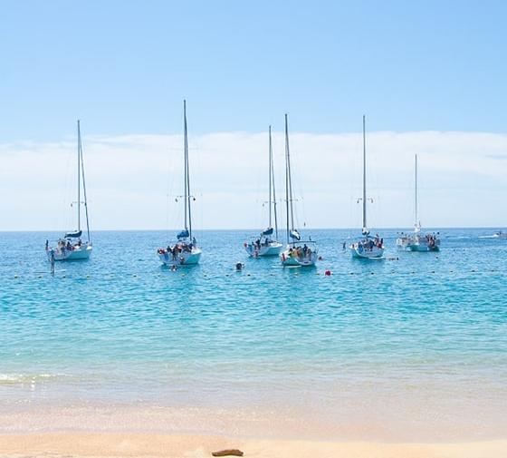 Snorkelling at Santa Maria Beach