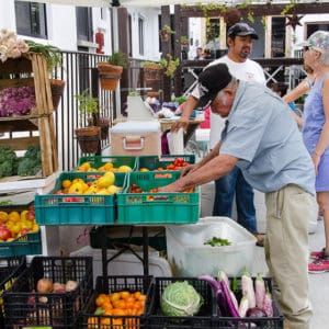 Shopping at Farmers Market in Cabo San Lucas