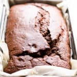 Healthy Chocolate Bread with Spelt Flour