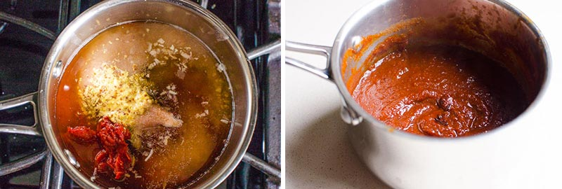 how to make healthy BBQ sauce