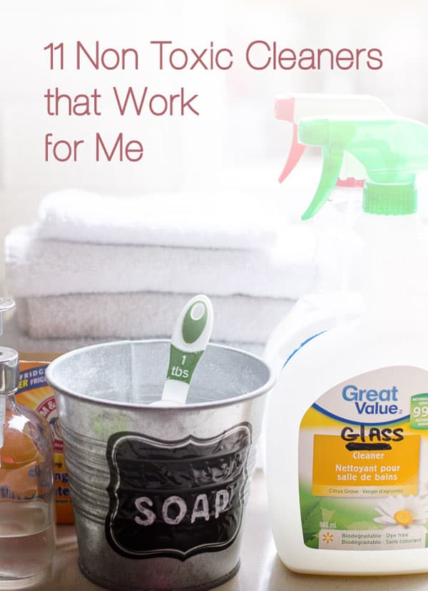 11 Non Toxic Cleaning Products for clean home and laundry that are natural, chemical free, cheap and work. Including 5 chemicals I can't give up just yet. | ifoodreal.com