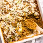 Lentil Casserole with Mushrooms