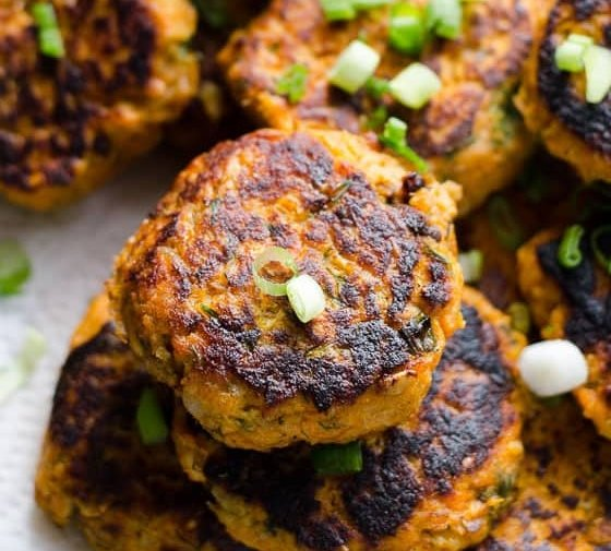 Canned Salmon Cakes