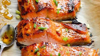 Thai Broiled Salmon (Video)