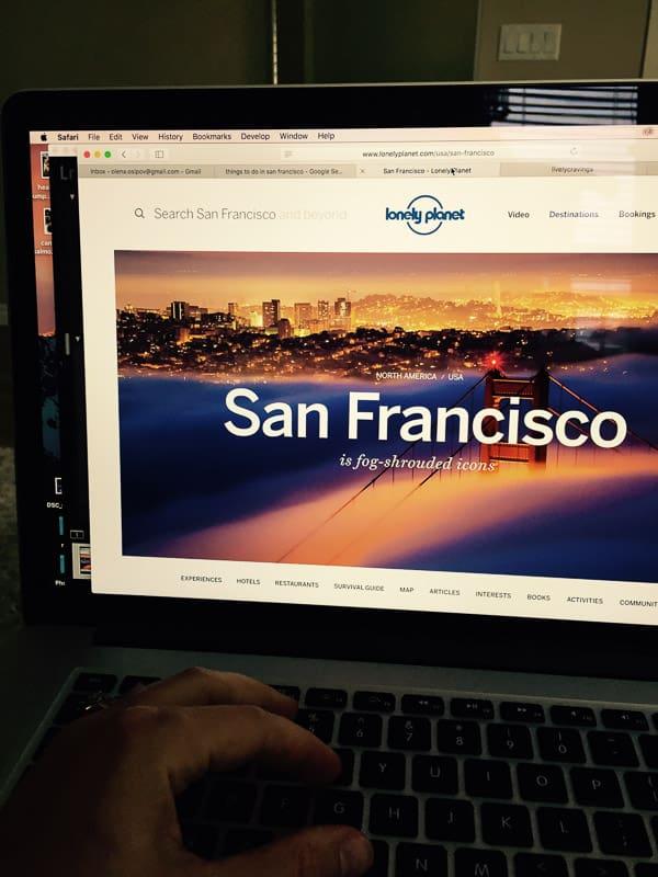Need Advice: San Francisco