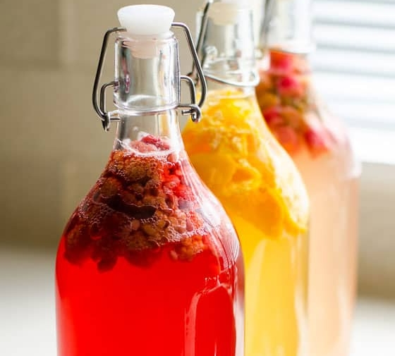 Flavoring Kombucha & How to Make Kombucha Fizzy