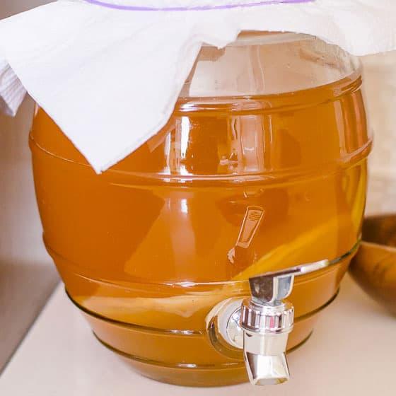 Kombucha Recipe - iFOODreal - Healthy Family Recipes