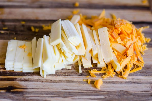 how to make cheesy cauliflower rice