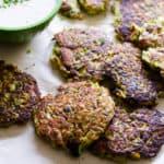 Tuna Zucchini Fritters