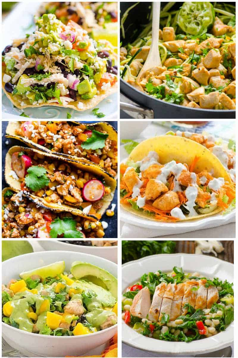 recipes dinner clean eating healthy chicken easy dinners simple ifoodreal left right
