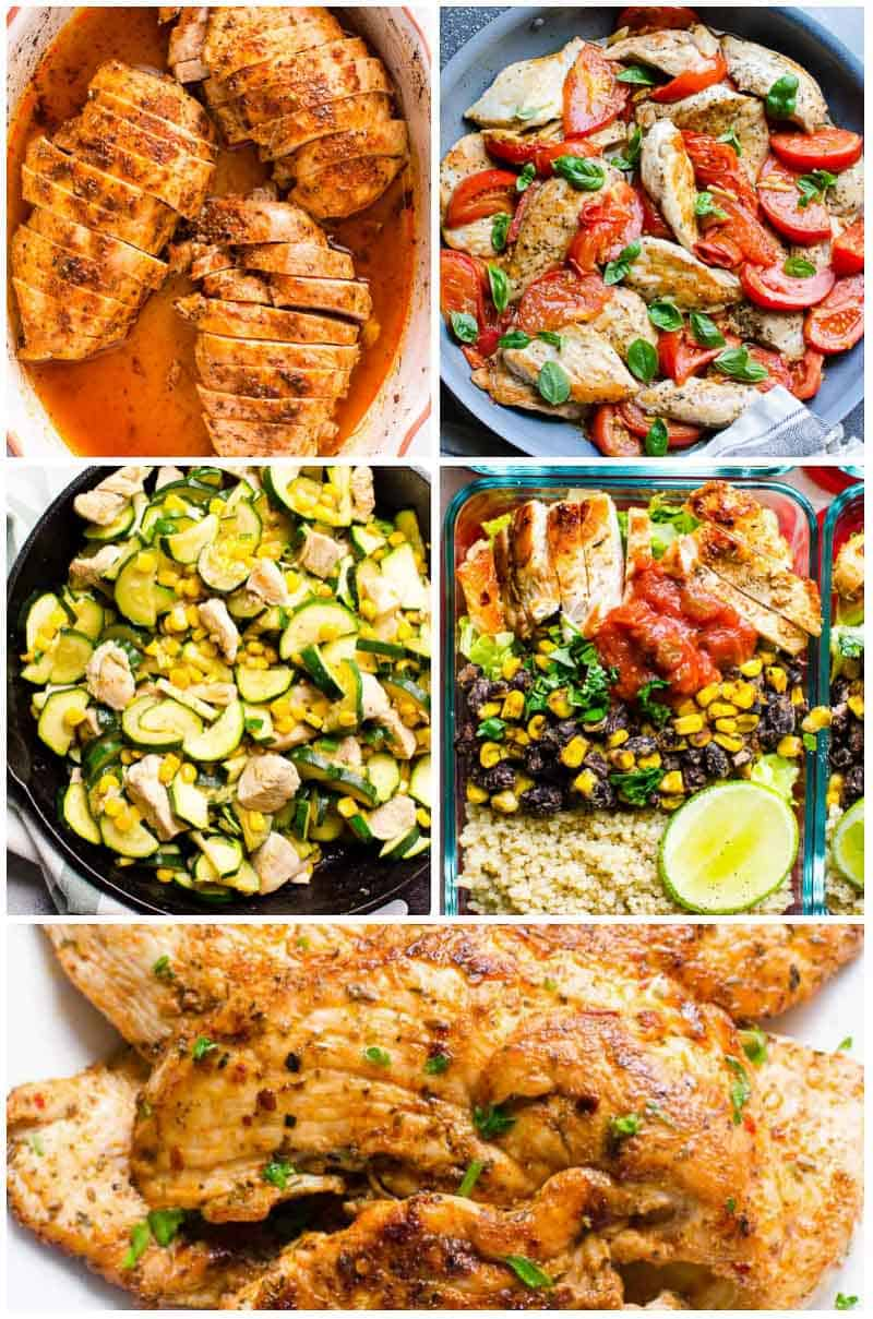 45 easy healthy dinner ideas in 30 minutes - ifoodreal - healthy