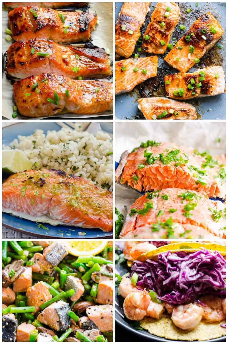 Quick and Easy 45 Healthy Dinner Ideas Recipes for busy weeknights. You've got this! Clean eating approved.