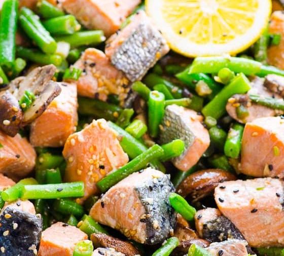 Salmon Stir Fry