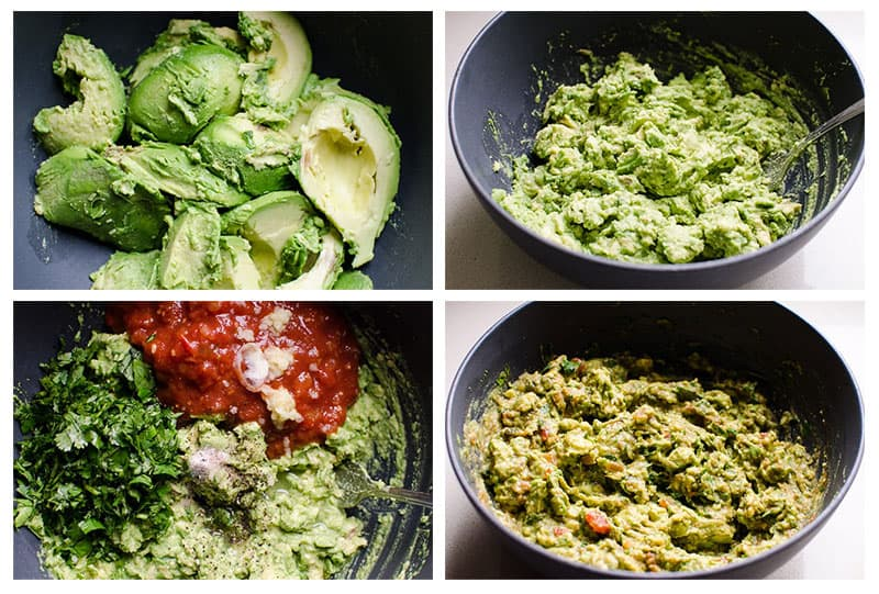 how to make guacamole salsa step by step