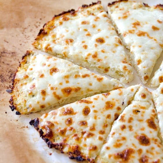 Cauliflower Pizza Crust Recipe VIDEO - iFOODreal - Healthy Family Recipes