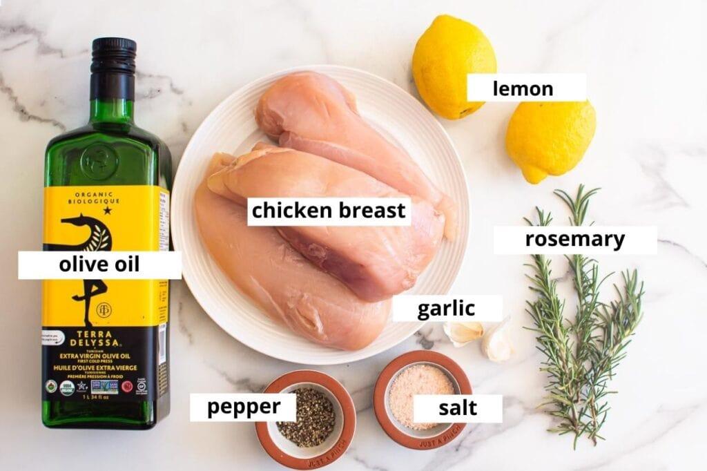 lemon rosemary chicken ingredients