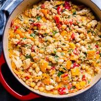 Chicken Chickpea Stew