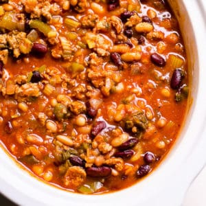 Healthy Turkey Chili Recipe