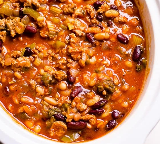 Healthy Turkey Chili Recipe (Video)