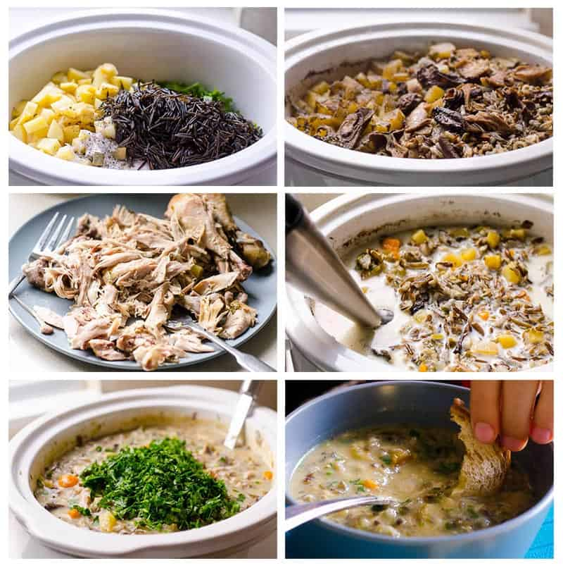 how to make chicken and wild rice soup