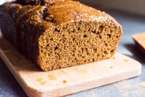 Healthy Gingerbread Loaf