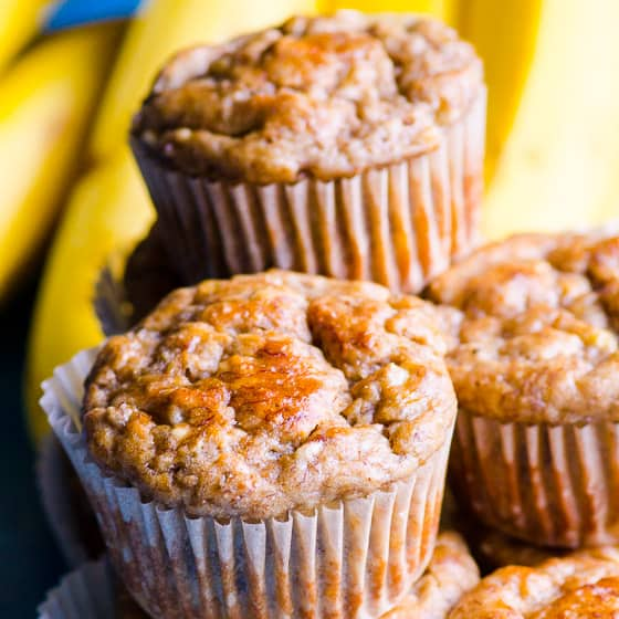 Healthy Banana Muffins Kid Approved Ifoodreal Com