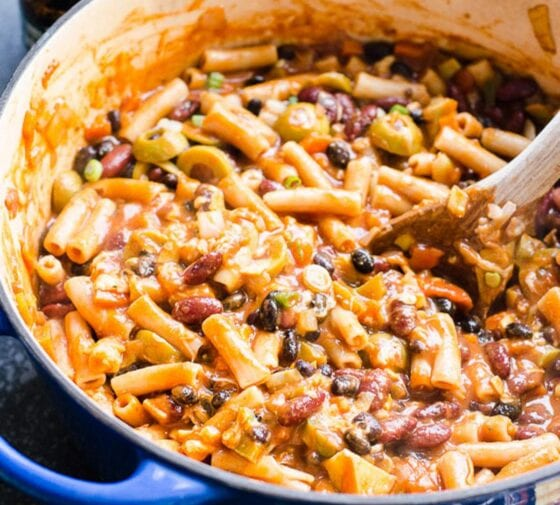 One Pot Chili Mac