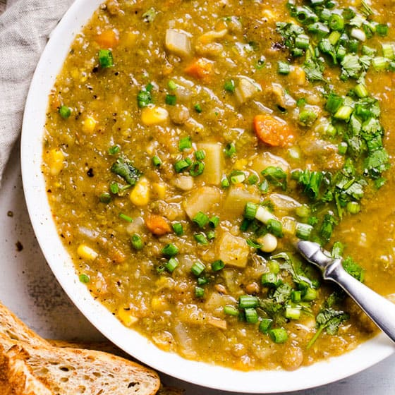 Slow Cooker Lentil Soup Ifoodreal Healthy Family Recipes