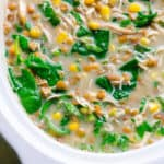 lentil chicken soup