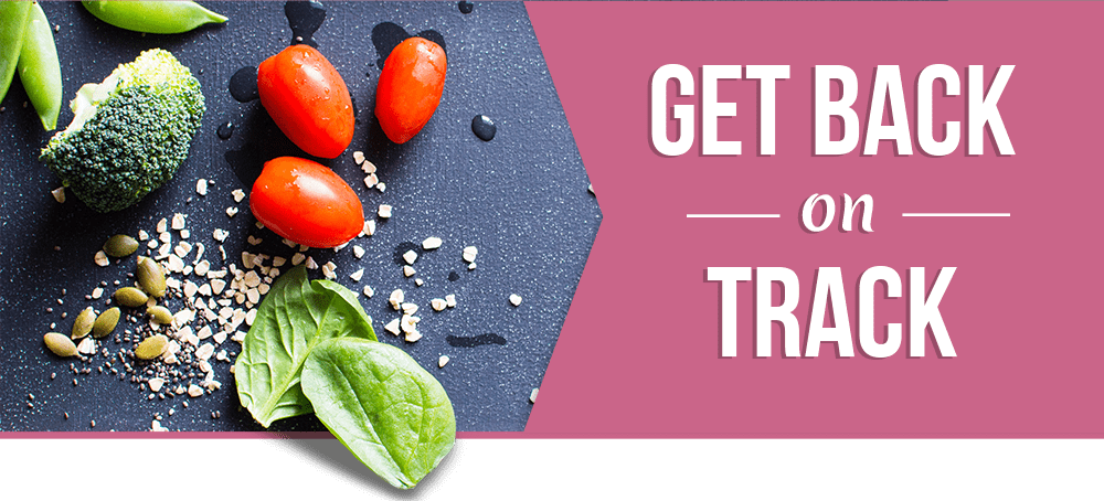 Get Back on Track with 4 FREE Meal Plans.